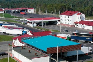 "Фото: The reconstruction of the checkpoint ""Kamenny Log"" is scheduled to start in 2019"